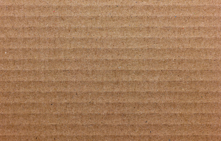 crimped: Texture of cardboard, light brown color
