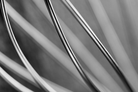 steel wire: Abstract wire background, monochrome steel back