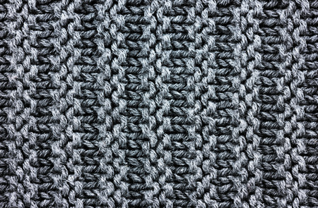 mohair: knitting background texture, gray color Stock Photo