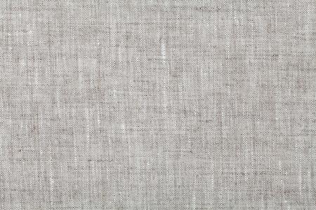 Fundo da tela na cor cinza neutro, textura de linho, vista de cima Banco de Imagens