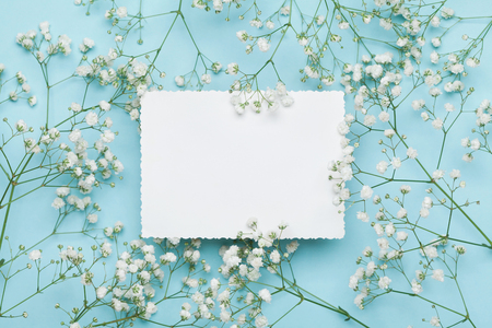 Wedding mockup with white paper list and flowers gypsophila on wedding mockup with white paper list and flowers gypsophila on stock photo picture and royalty free image image 68961502 mightylinksfo