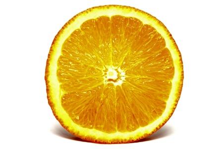mandarins: Natural orange closeup on white background