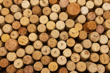 Many wine corks for a New Background photo