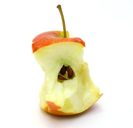 Apple core photo