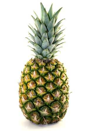 Beautiful pineapple on white background