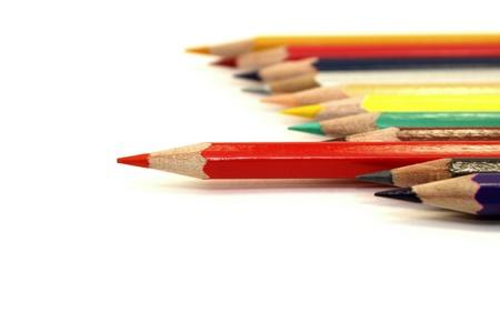 Colored pencils Standard-Bild