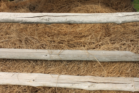 hayloft: Hay background Stock Photo