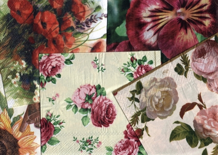 set of decorative ornamental floral patterns
