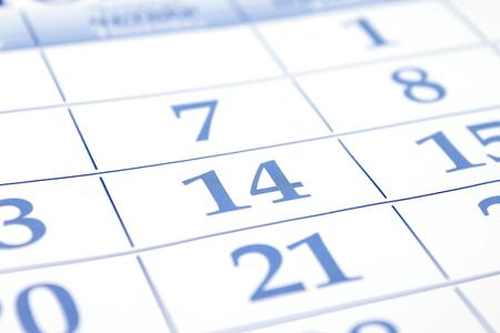Valentines Day  Date of calendar