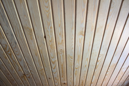 Wood Background, wall paneling without finishing