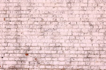 Abstract pink background with structural brickwork