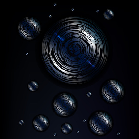 cosmic: Cosmic spheres Illustration