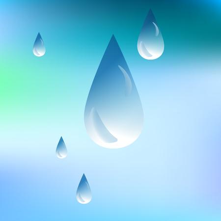 sopping: water drop