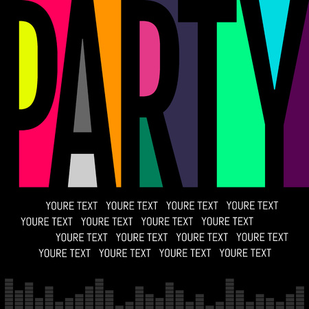 Nice and beautiful abstract or Night Party Flyers with creative design illustration. Bright colours