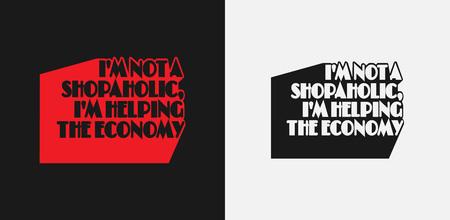 Poster Quote template. T-shirt print design. Vector illustration. 矢量图像