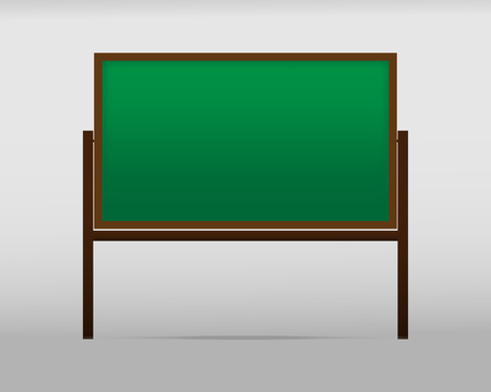 The school Board on the background. Vector illustration modern design template.