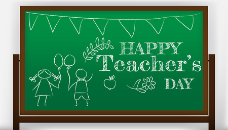 creative abstract, banner or poster for Happy Teacher s Day with nice and creative design illustration.