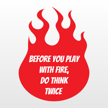 Racing style slogan print. Vector fire flame background.