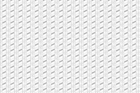 Black and white linear seamless pattern. Herringbone tiling as geometric background . Basic  background for design, website, cards, wrapping paper.