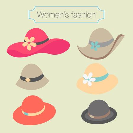 chapeau de paille: Femmes