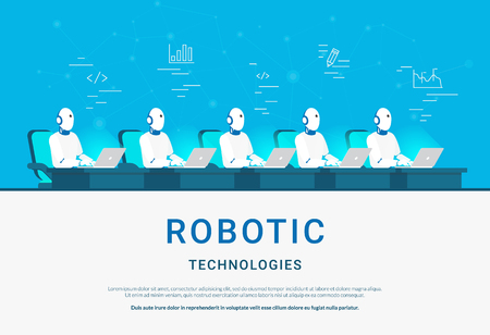 Robotic technologies for online assistance and machine learning.