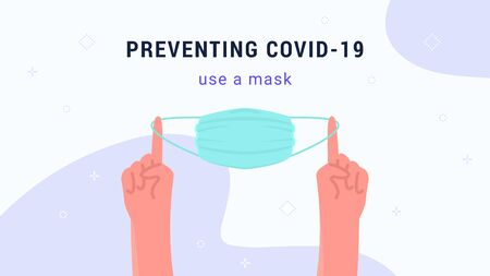 Preventing covid-19 using a medical face mask
