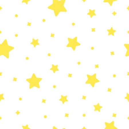 Space pattern stars . Vector illustration Illustration