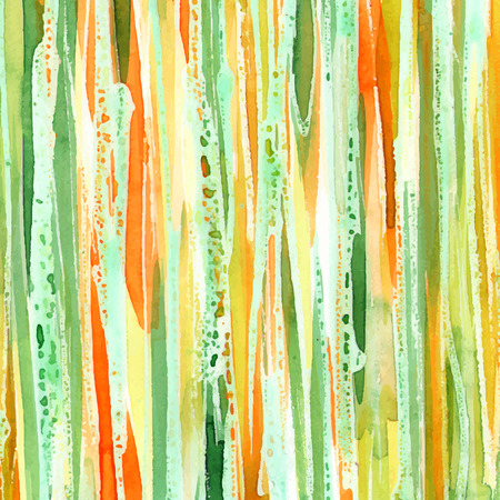 Abstract watercolor background forming by stripes.
