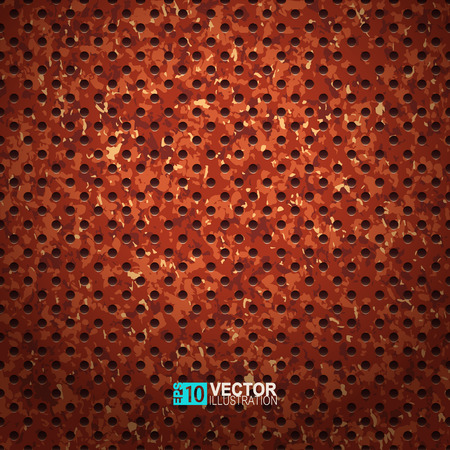 illustration of rusted metal surface. Speaker grill texture