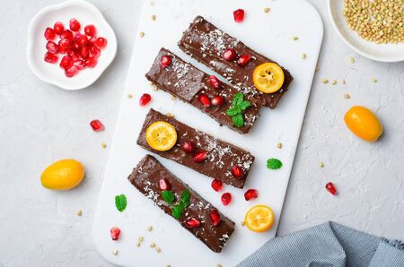 Raw Vegan Chocolate Fudge, Tasty Vegetarian Dessert