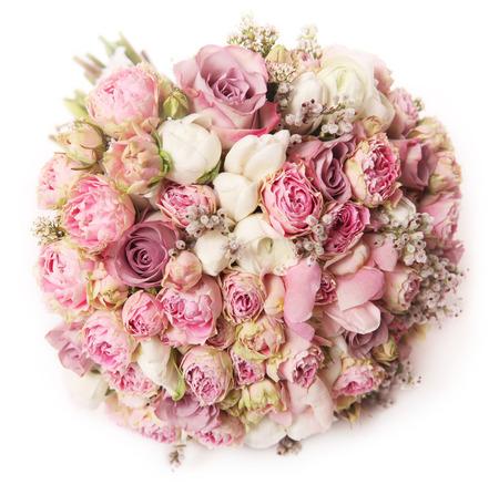 wedding bouquet, high angle of view Zdjęcie Seryjne