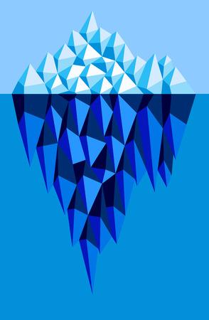 ice floe: iceberg
