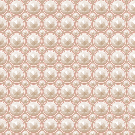 saturate: pearl seamless pattern