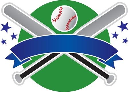 baseball banner Illustration