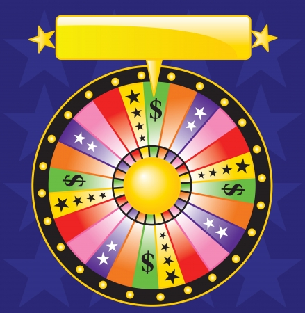 roue de fortune: roue de la fortune Illustration