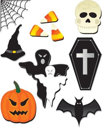 an element: halloween element