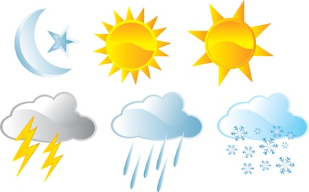 weather forecast Stock Vector - 17983440