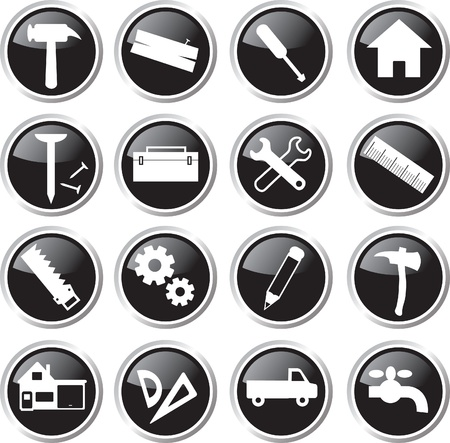 worktool icon set Vector