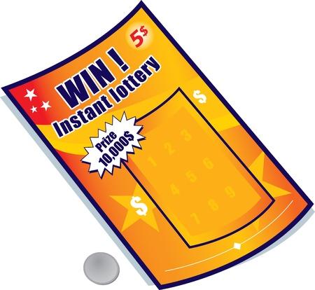 lottery Illusztráció