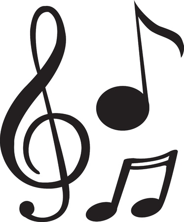 sheet music: music note