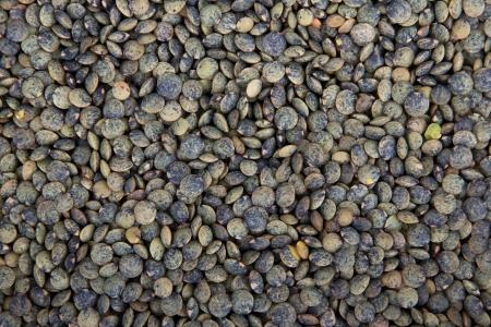 green lentil background