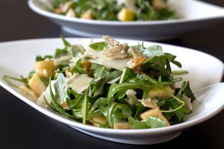 Rucola salade Stockfoto