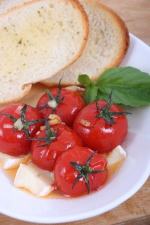 roasted tomato appetizer