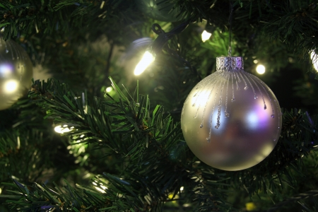 christmas tree ball Stock Photo