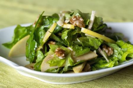 apple and nut salad