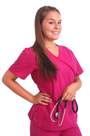young nurse student
