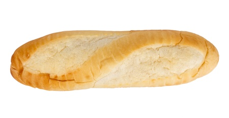 bread baguette isolated
