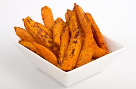 sweet potato fries Archivio Fotografico