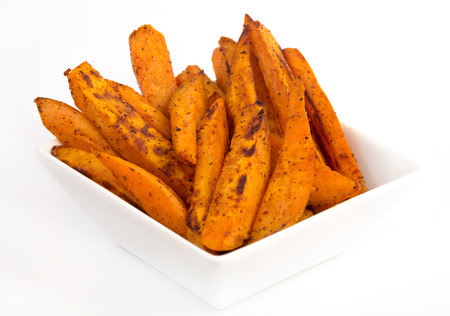 sweet potato fries Stock Photo