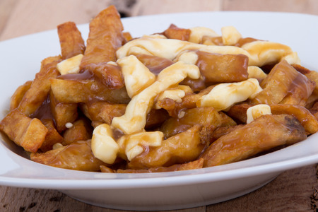Poutine quebec meal